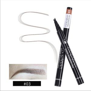 Brown(3)-liquid eyebrow pen